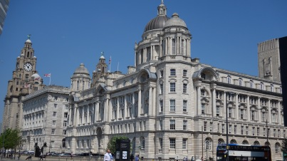 Merchant trading made Liverpool rich. Here's a big building they built to show everyone just how rich they were.