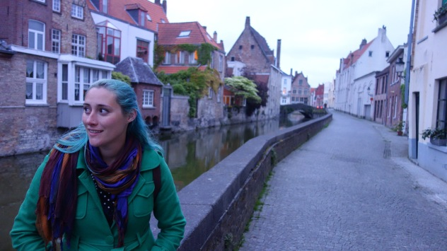 Bruges, a medieval city crossed by tiny canals. We visited on my Dad's recommendation, and we're so glad we did.