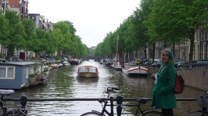 A lovely and typical canal in the Jordaan area.