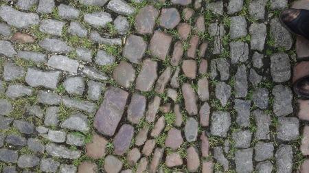 Lovely cobblestone.