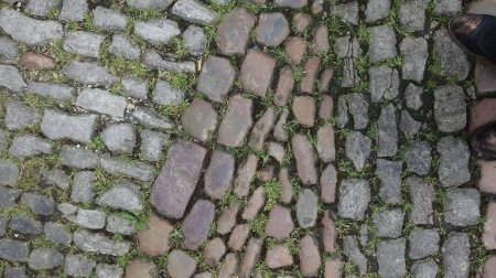 Lovely cobblestone.