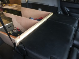 Backseats fold flat.