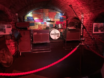 No visit to Liverpool would be complete without some Beatles tourism - this is the Cavern Club, where they plated a lot.