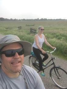 A bike ride near Giethoorn - 30k!