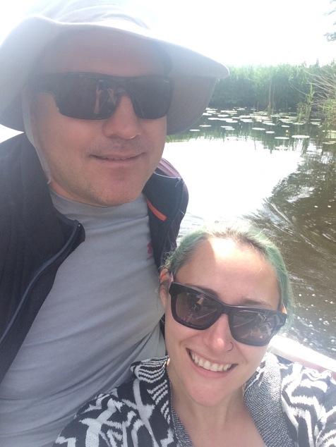 Boat selfie!