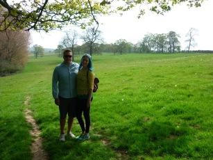 Pretty English countryside