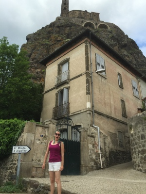 That's a long way up! (To a church in Le Puy-en-Velay)