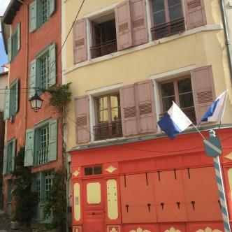 Colours in Le Puy-en-Velay