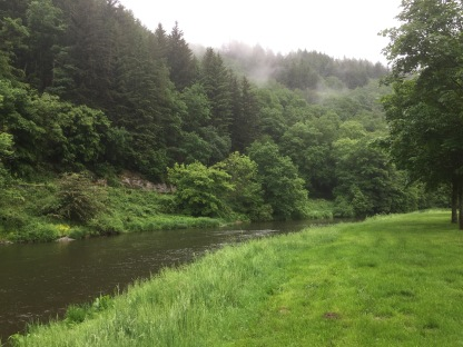 Our campsite in Bouillon.