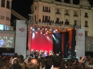 We found flamenco in Cordoba! Really, it wasn't that hard, since our