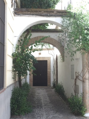 Just a pretty building entrance in the Jewish neighborhood in Cordoba, actually pretty typical.