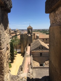 A view of the Alcazar (castle) in Cordoba, where Isabella and Ferdinand would hang out and do inquisition stuff while they were in Cordoba.