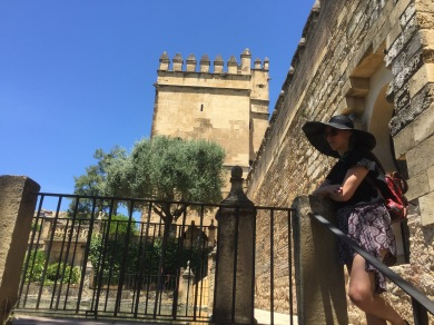 Looking at the Alcazar. Can you tell we staged this for instagram? Because we did, it just didn't make the cut (honesty),