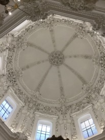 A beautiful dome, which is of course a Christian addition.