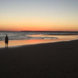 Looking at the sunset at Zahara de los Atunes.