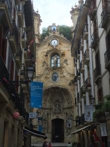 San Sebastian, being magical.