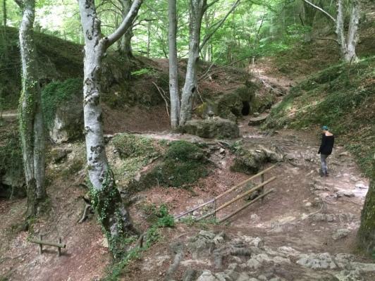I hike.