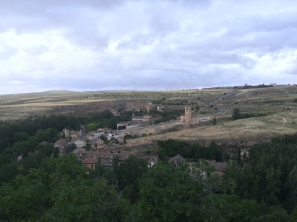 A view from the Segovia city walls. This is what we thought Spain would look like.