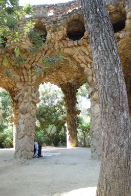 Gaudi is great with natural building materials, too.