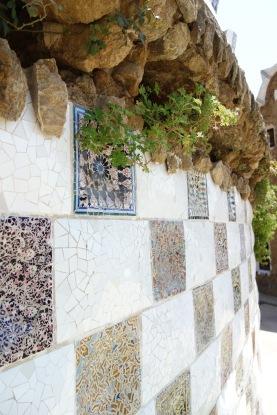 Mosaics at the entrance. Mosaics everywhere.