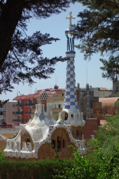 Silly Gaudi! (In Parc Guell)