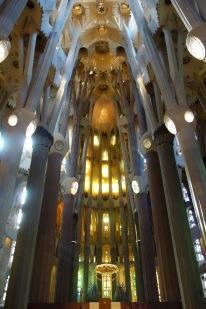 Looking towards the main altar.