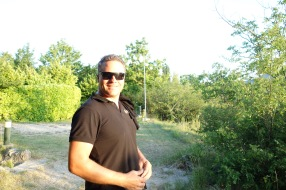 Luke at the campground.