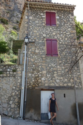 Moustiers-Sainte-Marie and me.