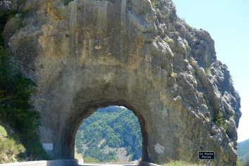 Driving along the Gorge