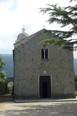 The half way point in our hike - a tiny village with about 6 houses, one convenience store with cold drinks, fresh pesto, and focaccia, and of course a church