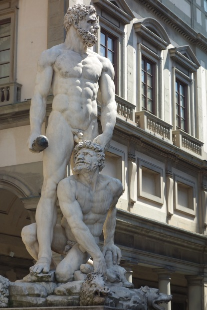 A very different sculpture in Florence.