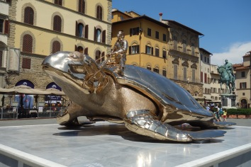 And again, an even more different one. (This one is contemporary, of course). We really only stayed in Florence long enough for a sculpture tour - we were feeling touristed-out.