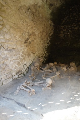 And the worst part: Skeletons of people who fled to boathouses on the seashore to escape the eruption. It really is heartbreaking, and odd to take photos. I wouldn't have taken photos if they died 20 years ago, why does 2,000 years make it ok?