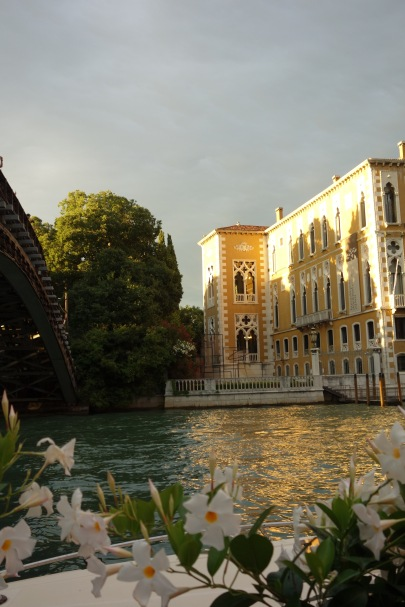 The Grand Canal, where we had a massively overpriced and under-delicious pasta meal.