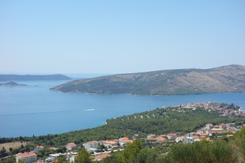 A view of where we are now - on an island near Trogir, Croatia.
