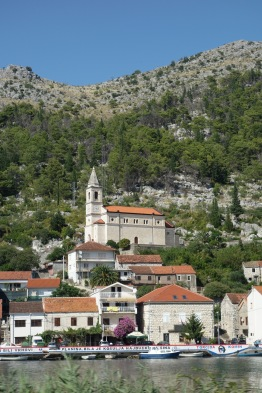 A riverside town in southern Croatia