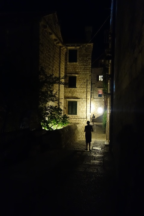 But we did find plenty of quiet, dark spots in the city.
