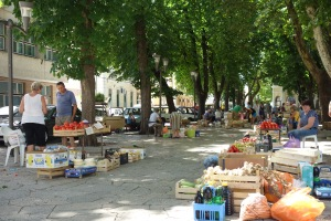 A lovely market in Trebinje