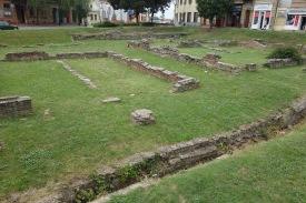 Roman ruins in Mitrovica