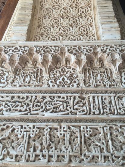 Lovely plaster carving.