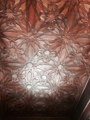 Ceiling detail.