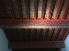 And painted ceilings.