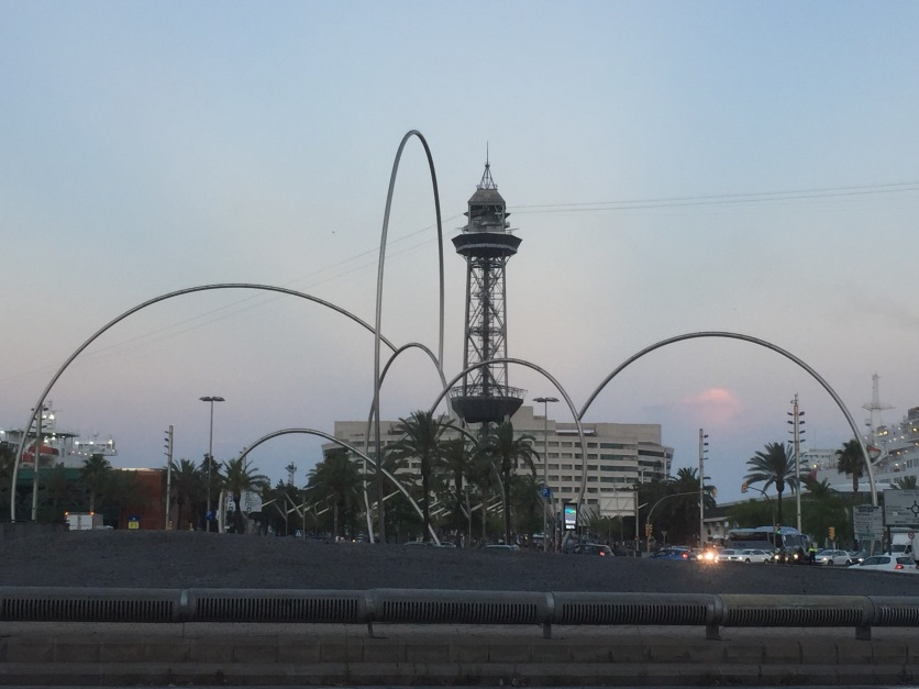 One last parting glimpse of Barcelona as we head back to our campground.
