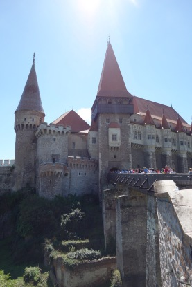 We stopped by Corvin Castle, in Hunedoara. It was first built in the 14th century but has had lots of input over the centuries, of course, including a heavy dose of, hm, creative restoration in our modern era.