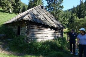 A hiker's hut, I guess