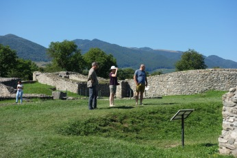 We also stopped by some neat Roman ruins in Sarmisegetusa.