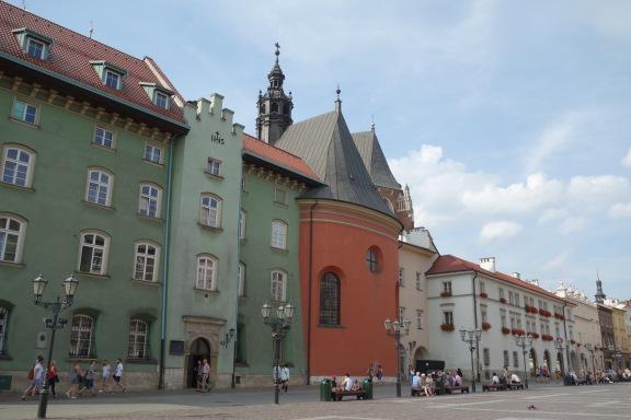 We now enter Krakow, Poland