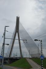 Riga looked quite dismal in the rain