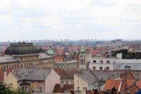 Overlooking Zagreb