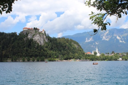 A view of Lake Bled.